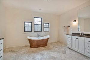 Luxury Custom Bathroom by True Living Custom Homes