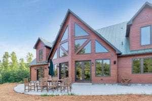 luxury custom home exterior