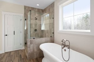 master bathroom tile work