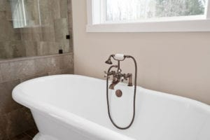 master bath tub detail