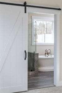 master bath view from the door
