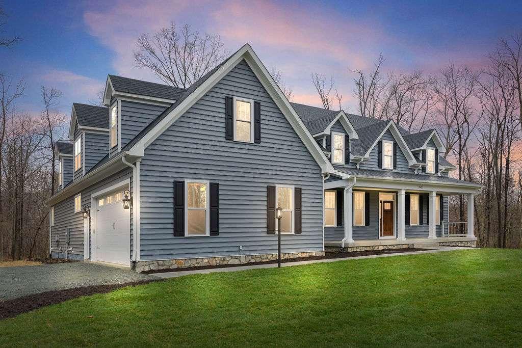 luxury custom home front