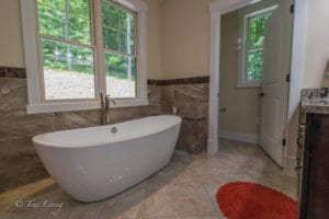 bathtub inside bathroom built by True Living