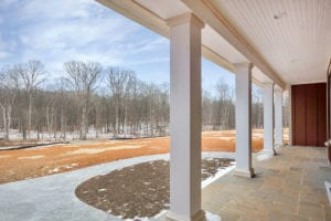 front porch of house built by True Living