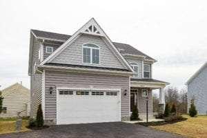 house showing garage
