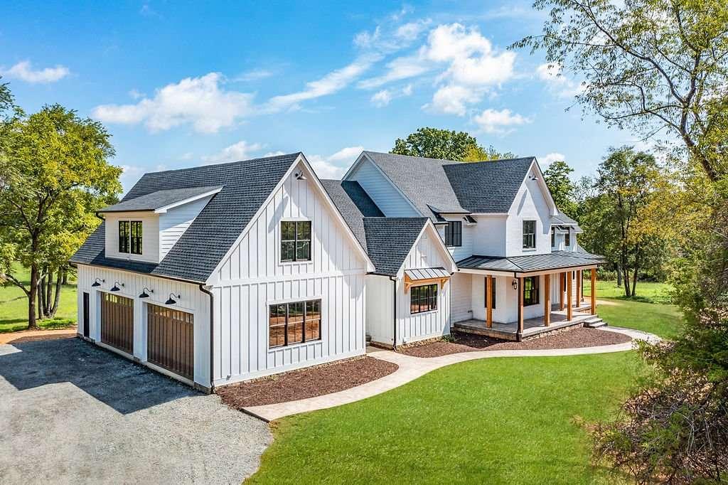 Stunning modern farmhouse