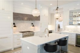 Luxury Custom Kitchen White